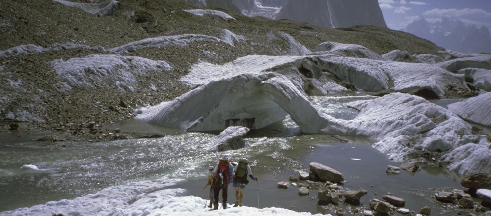 Trekking på Baltoro gletsjeren